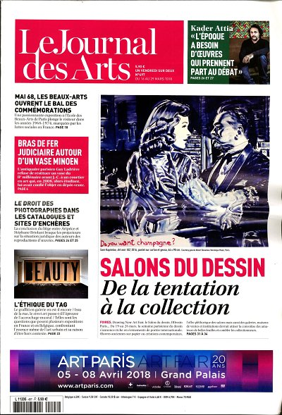 le journal des arts 290318 cover